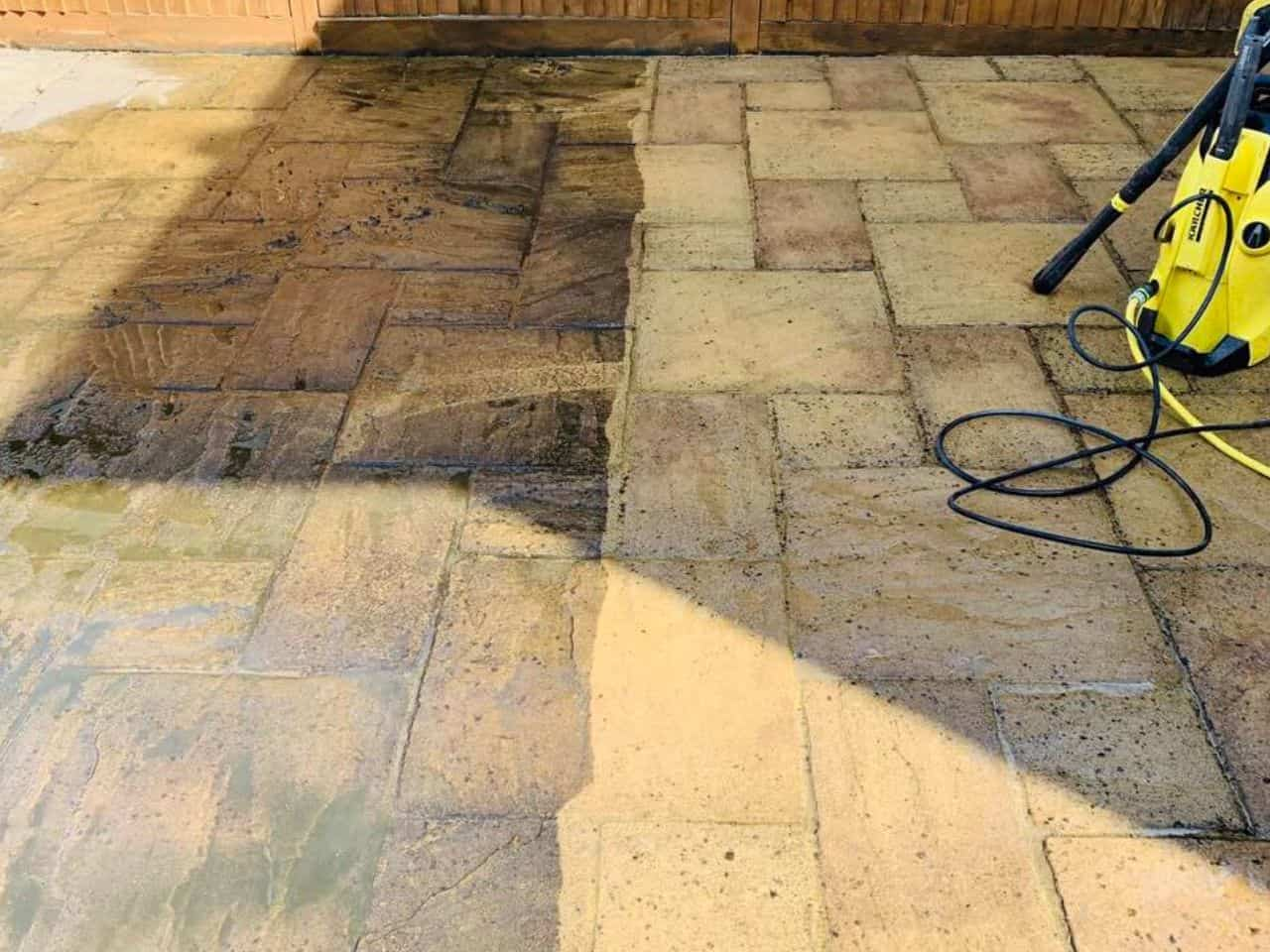 pressure washing services Hampshire